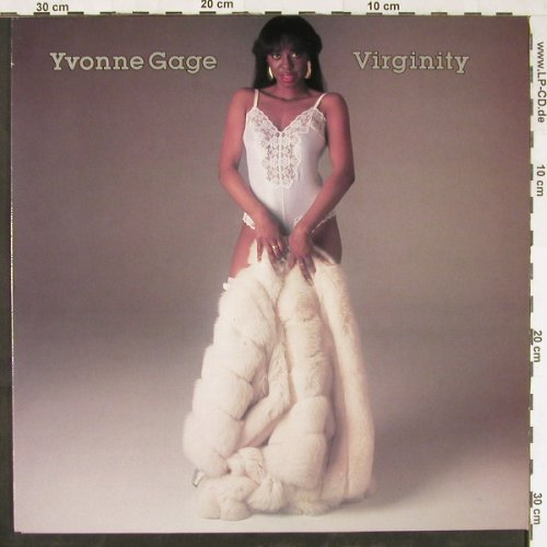 Gage,Yvonne: Virginity, Epic(EPC 26087), UK, 1984 - LP - E1867 - 6,00 Euro