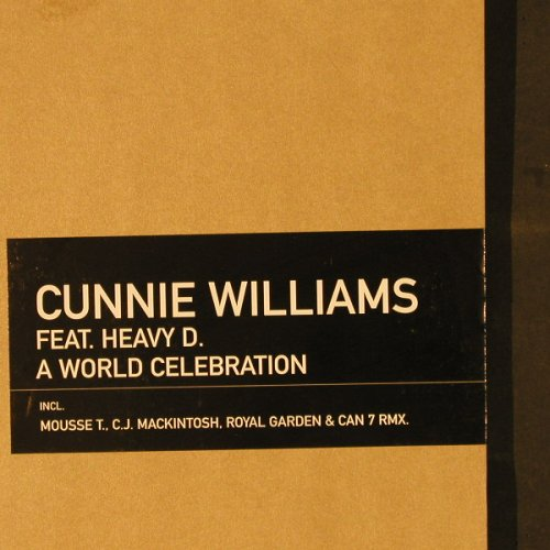 Williams,Cunnie: A World Celebration, FS-New, Peppermint(0066850JAM), D, 1999 - 12inch - E2144 - 5,00 Euro