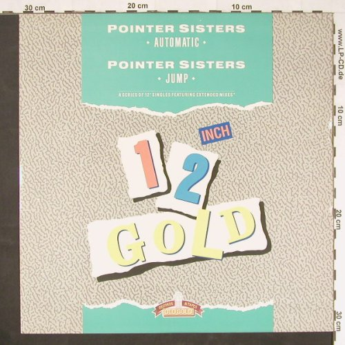 Pointer Sisters: Automatic/Jump, Old Gold(OG4028), UK, 1987 - 12inch - E221 - 2,50 Euro