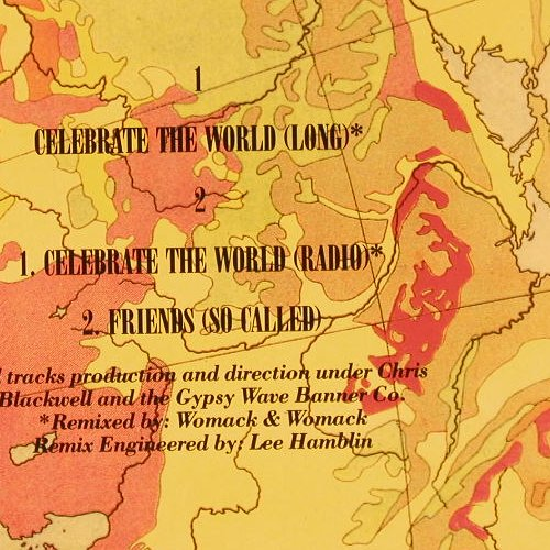 Womack & Womack: Celebrate The World*2+1, Island(612 059), D, 1989 - 12inch - E2252 - 2,00 Euro