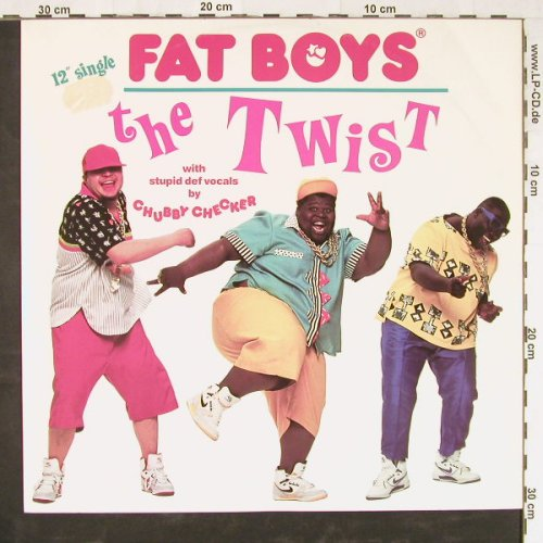 Fat Boys: The Twist*3, Tin Pan A.(887 638-1), D, 1988 - 12inch - E2382 - 2,00 Euro