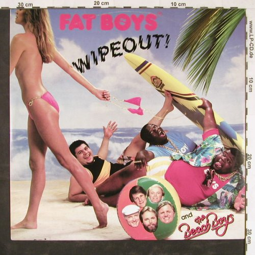 Fat Boys & Beach Boys: Wipeout *2/Crushin', Polydor(885 996-1), D, 1987 - 12inch - E2409 - 3,00 Euro