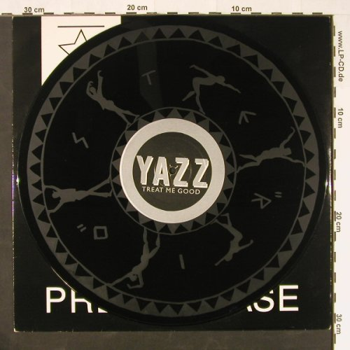 "Yazz: Treat Me Good,1-sided DJ Promo, Big Life(YAZZ Promo 4), m-/vg+,  - 12""gx - E242 - 3,00 Euro"