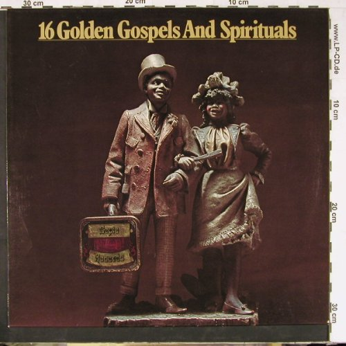 V.A.16 Golden Gospels And Spiritual: 16 Tr., MCA(6.22456 AG), D, 1976 - LP - E2526 - 5,00 Euro