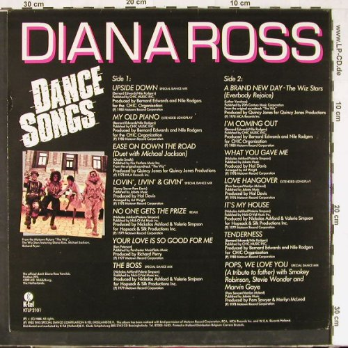 Ross,Diana: Dance Songs,Foc, K-tel(KTLP 2101), NL, 1985 - LP - E2571 - 5,00 Euro