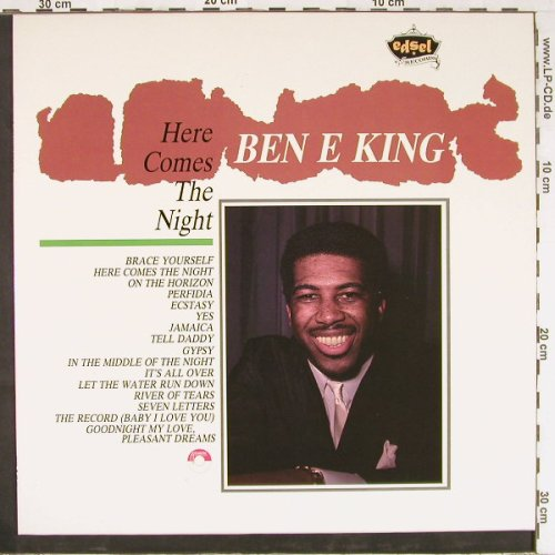 King,Ben E.: Here comes The Night, Edsel(ED131), UK, 1984 - LP - E2603 - 5,00 Euro