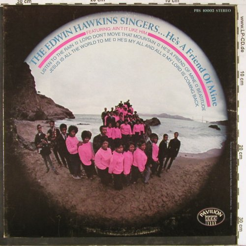Hawkins Singers,Edwin: He's a Friend of Mine, Pavilon(PBS 10002), US,  - LP - E2638 - 6,00 Euro