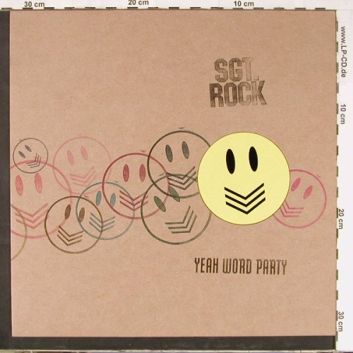 SGT.Rock: Yeah World Party/Rock'n'Roll, Wiiija(WIJ 110T), UK, 2000 - 12inch - E2739 - 4,00 Euro