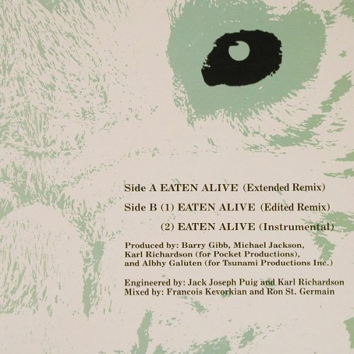 Ross,Diana: Eaten Alive*3, Capitol(GOOD 80), AUS, 1985 - 12inch - E2852 - 4,00 Euro