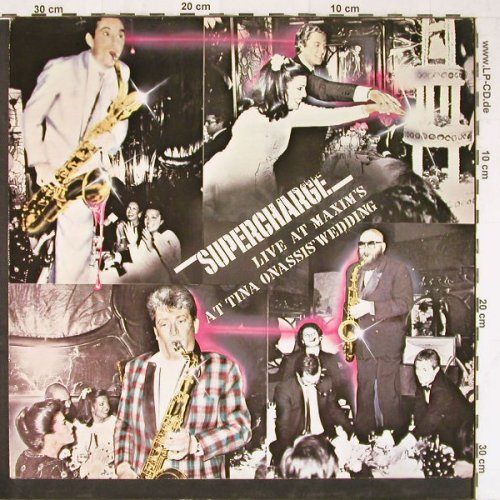 Supercharge: Live At Maxim's At T.Onassis Birthd, Memo Music(MP 1985001), D, 1985 - LP - E3291 - 4,00 Euro