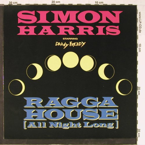 Harris,Simon Starring Daddy Freddy: Ragga House(All night long), BCM(12398), D,  - 12inch - E3522 - 3,00 Euro