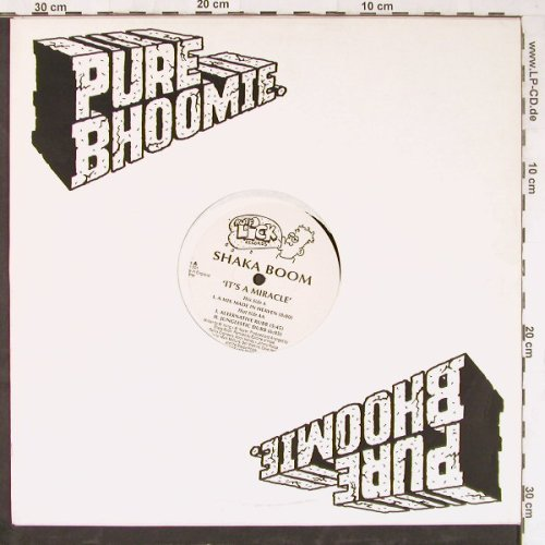 Shaka Boom: It's A Miracle*3,Flc, Ruff Lick(LIKK 001), UK,  - 12inch - E4048 - 2,50 Euro