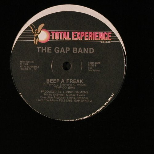 Gap Band: Beep a Freak*2, FLC, Total Exp.(J-1000-R), US, 1984 - 12inch - E4135 - 3,00 Euro