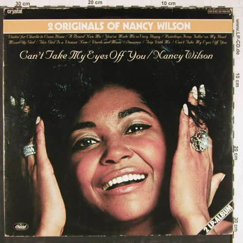 Wilson,Nancy: Can't Take My Eyes Off You/But Beau, Capitol(134 EVC 53 148), D, Foc,  - 2LP - E4264 - 9,00 Euro
