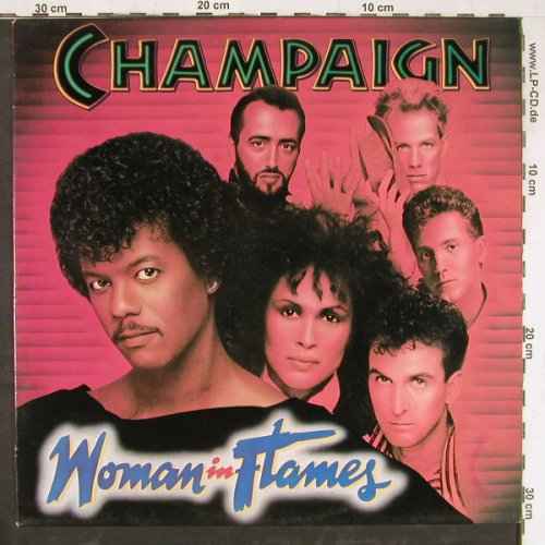 Champaign: Woman In Flames, CBS(26018), NL, 1984 - LP - E4270 - 5,00 Euro