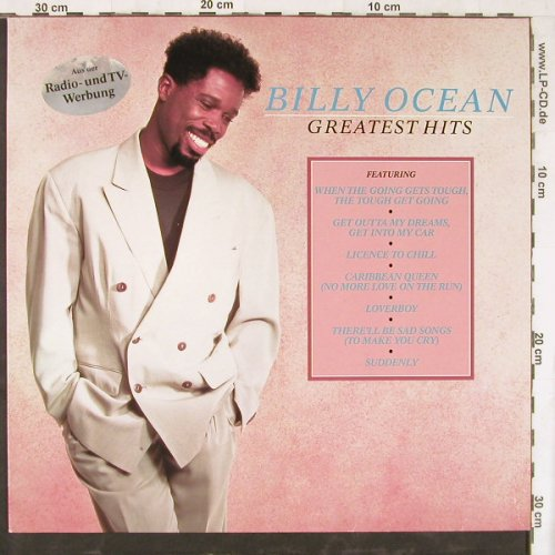 Ocean,Billy: Greatest Hits, Jive(ZL74286), D, 1989 - LP - E4553 - 4,00 Euro