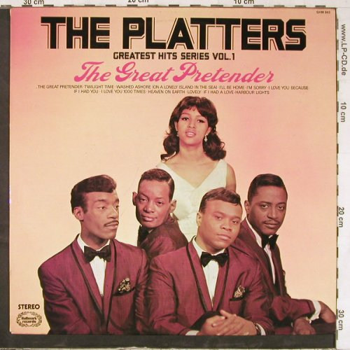 Platters: The Great Pretender-Gr.HitsSerieV.1, Hallmark(SHM 843), UK, 1966 - LP - E4744 - 5,00 Euro