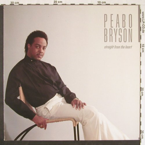Bryson,Peabo: Straight From The Haert, Elektra(960 362-1), D, 1984 - LP - E500 - 5,00 Euro