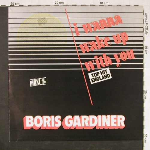 Gardiner,Boris: I Wanna Wake Up With You, Chic(6.20641 AE), D, 1988 - 12inch - E519 - 1,50 Euro