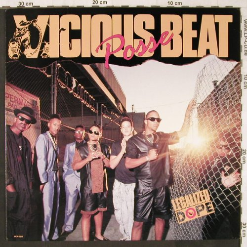 Vicious Beat Posse: Legalized Dope, 11Tr., MCA(6353), US, 1989 - LP - E6160 - 15,00 Euro