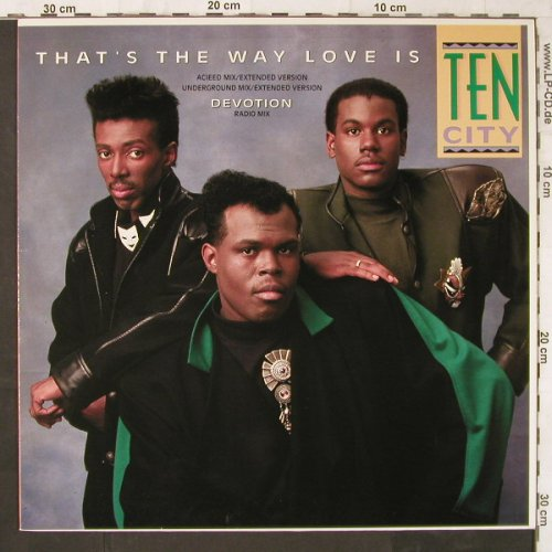 Ten City: That's The Way Love Is*2+1, Atlantic(786 460-0), D, 1989 - 12inch - E6220 - 2,50 Euro