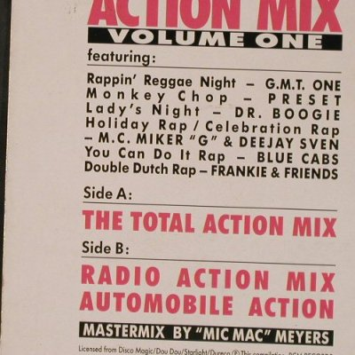 V.A.Action Mix: Volume One, 3 Tr., BCM(B.C.12-2029-40), D,  - 12inch - E6359 - 4,00 Euro