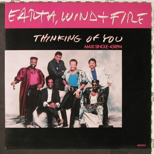 "Earth,Wind & Fire: Thinking of you *3,12"",7"",house, CBS(651373 6), NL, 1987 - LP - E6481 - 2,50 Euro"