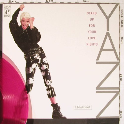 Yazz: Stand Up For Your Love Rights *2, Blow Up(INT 125.751), D,redVinyl, 1988 - 12inch - E6512 - 4,00 Euro