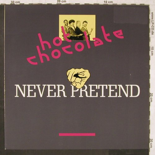 Hot Chocolate: Never Pretend *2, Polydor(887 918-1), D, 1988 - 12inch - E6536 - 4,00 Euro