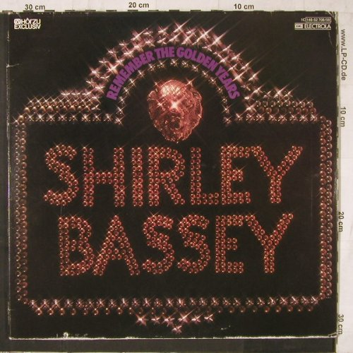 Bassey,Shirley: Remenber The Golden Years,Foc, HörZu(148-52 708/09), D,m-/vg+, 1977 - 2LP - E6646 - 5,00 Euro