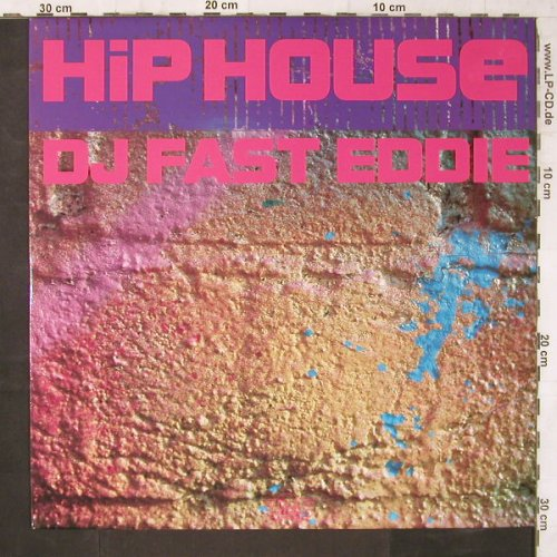 DJ Fast Eddie: Hip House*3+1, Dj Intern.(DJINT 5), UK, 1988 - 12inch - E6665 - 4,00 Euro