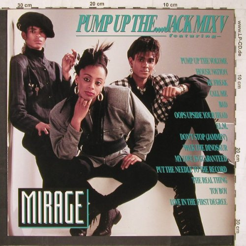 Mirage: Pump Up The...Jack Mix V, BCM(B.C.12-2057-R), D,  - 12inch - E6675 - 3,00 Euro