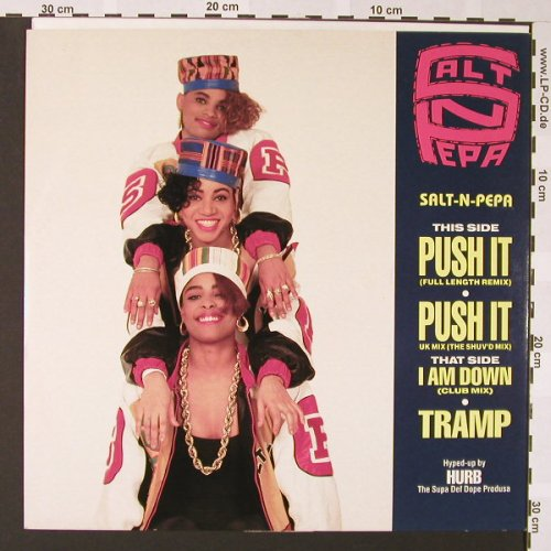 Salt-N-Pepa: Push It*2+2, ffrr(FFRRX 2), UK, 1988 - 12inch - E6851 - 4,00 Euro