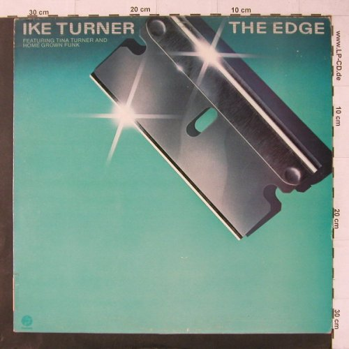 Turner,Ike feat.T.Turner&Home Grown: The Edge, Fantasy(F 5932), F, 1980 - LP - E713 - 7,50 Euro