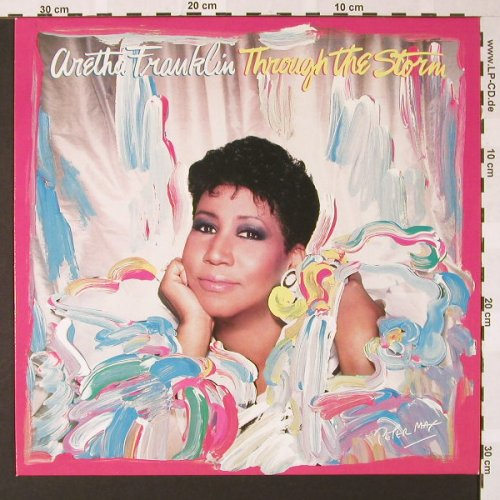 Franklin,Aretha: Through The Storm, Arista(209 842), D, 1989 - LP - E7170 - 5,50 Euro