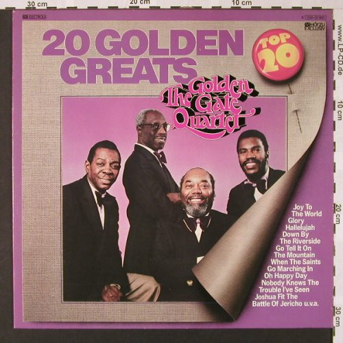 Golden Gate Quartet: 20 Golden Greats, HörZu(058-32 980), D,  - LP - E7353 - 4,00 Euro