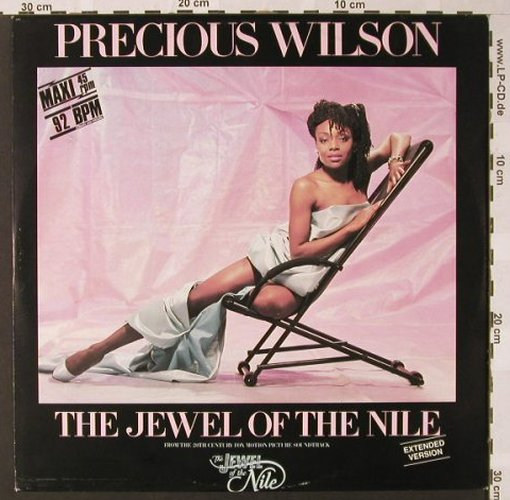 Wilson,Precious: The Jewel Of The Nile+2, Jive(6.20551 AE), D, 1986 - 12inch - E7616 - 2,00 Euro