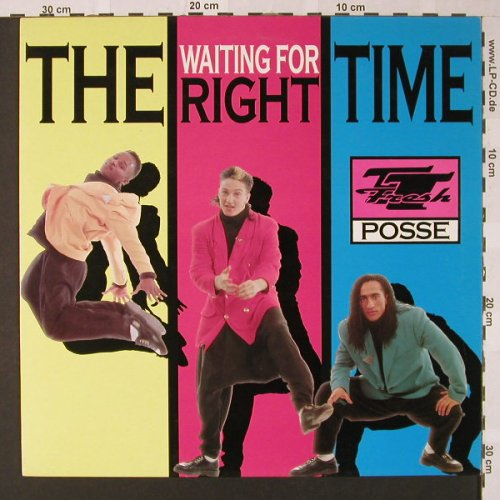 T.T.Fresh Posse: Waiting for the right time*2+1, Dance Street(DST 1048-12), ,  - 12inch - E7834 - 2,50 Euro