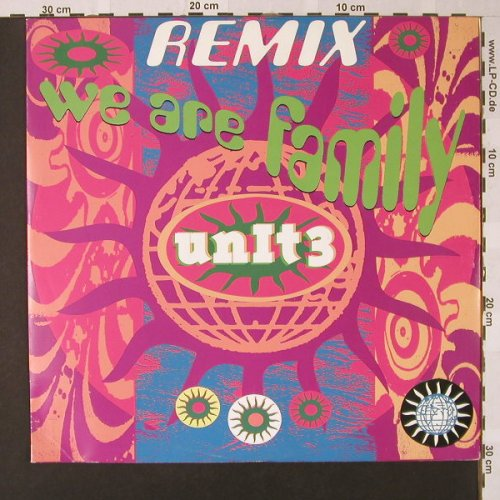 Unit 3: We are Family, remix(club/tech), Logic(614 660), D,  - 12inch - E7837 - 2,50 Euro