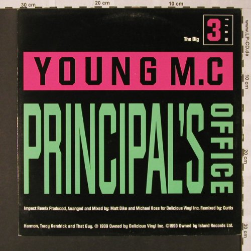 Young MC: Principal's Office, Delicious(12 BRX 161), UK, 1988 - 12inch - E7838 - 2,50 Euro