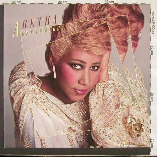 Franklin,Aretha: Get It Right, Arista(205 544-320), D, 1983 - LP - E8729 - 5,00 Euro