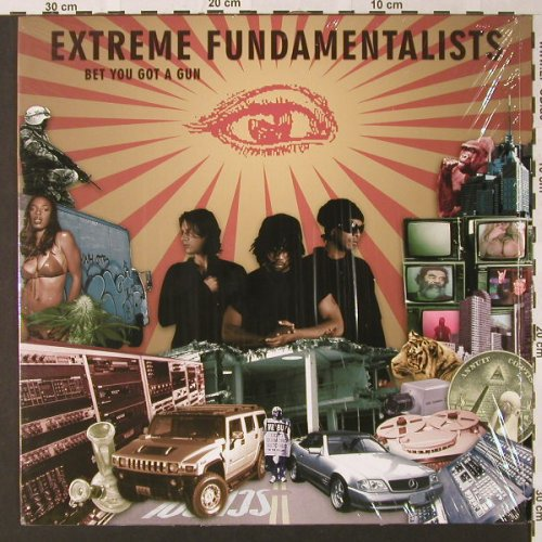 Extreme Fundamentalists: Bet U Got a Gun*3+1, 2Chilled Rec.(), EU, 2004 - 12inch - E8862 - 4,00 Euro