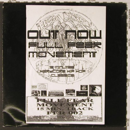 Full Fear: Movement,Promo,15min h.c.HipHop, Hamburg Hardcore(FFR 002), , 1994 - 12inch - E9470 - 5,00 Euro