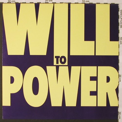 Will To Power: Same, Epic(493134 1), NL, 1988 - LP - E9730 - 5,00 Euro