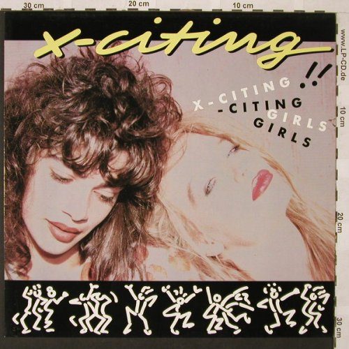 X-Citing Girls: X-Citing*4, Logic(LOC IV), D, 1988 - 12inch - E9774 - 3,00 Euro