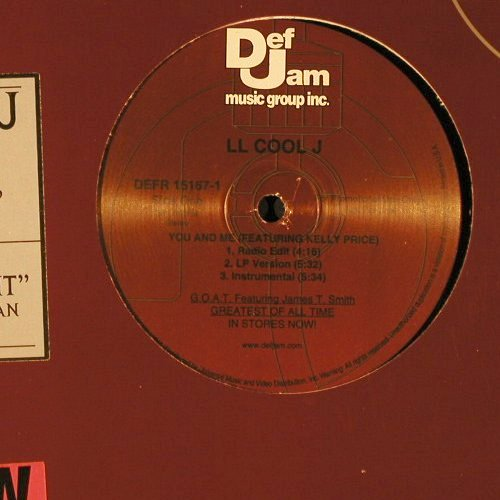 L.L.Cool J: You And Me*3/Fuhgidabowdit*3, Def Jam(DEFR 15167-1), US, Promo, 2000 - 12inch - E9842 - 3,00 Euro