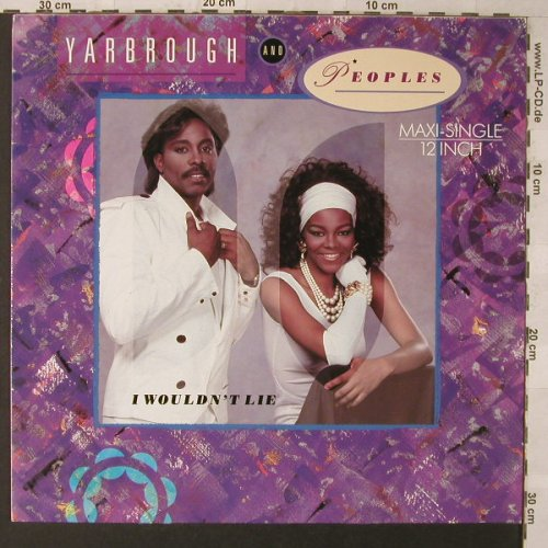 Yarbrough & Peoples: I Wouldn't Lie*3+1, Total Experience(FT 49842), D, 1986 - 12inch - F1392 - 3,00 Euro