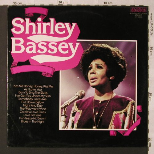 Bassey,Shirley: Same, Contour(CN 2000), UK,  - LP - F1854 - 4,00 Euro