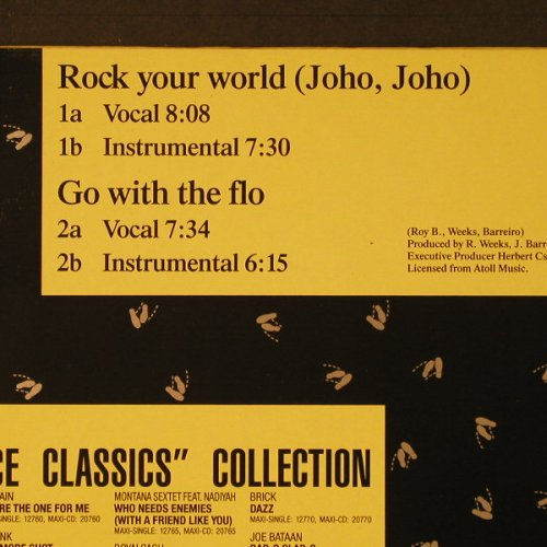 Weeks & Company: Rock Your World(Joho,Joho)*2+2, BCM(12773), D,  - 12inch - F1915 - 4,00 Euro