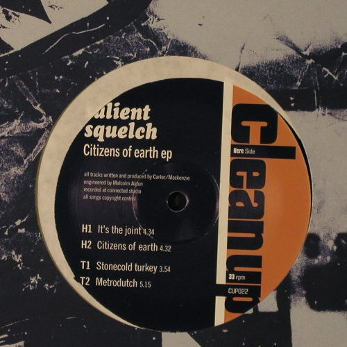 Salient Squelch: Citizens of Earth EP, Clean Up(CUP022), , 1996 - 12inch - F2087 - 2,00 Euro